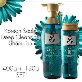 🚚 Ryo Scalp Deep Cleansing Shampoo