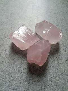全新包郵 粉晶原石