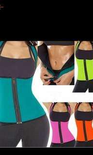 Waist trainer corset sweat vest slimming