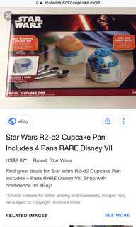 BNEW Star Wars R2D2 Mold
