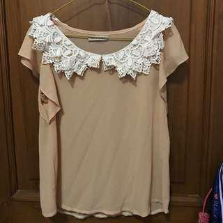 NyLa Brown Cute Top