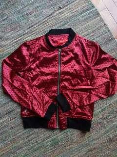 Polka dot light jacket
