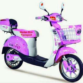 Sepeda listrik anak dan orang dewasa