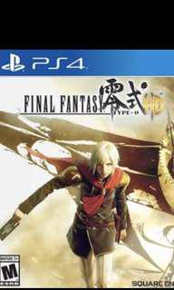 🚚 Ps4 Final Fantasy Type 0
