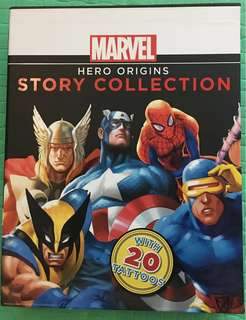Marvel story collection~A4 size, hardcover, box set
