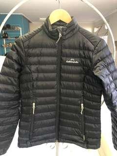 Kathmandu womens black duckdown jacket size 8