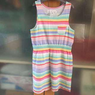 H&M rainbow dress