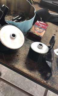 Mounting kelisa teflon