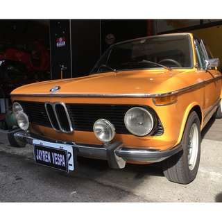 BMW 2002 T最美的斜背Small Flying Elephant 2002 T。