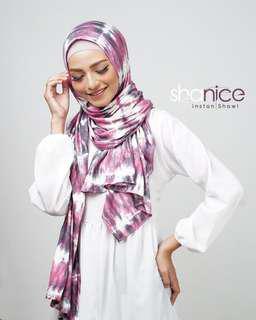 Shanice Tie Dye Semi Instant Shawl