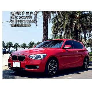 BMW 118i 紅色 1.6