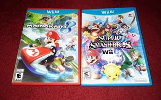 Wii U Games for Sale complete