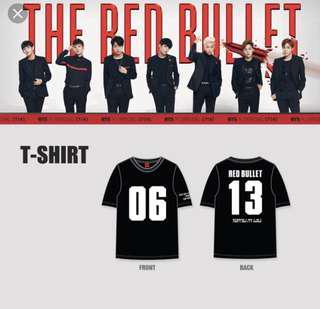 [interest check] bts the red bullet tshirt