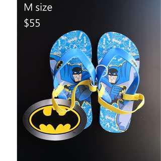 [全新] 英國直送primark batman 蝙蝠俠小童拖鞋
