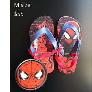 [全新] 英國直送primark spiderman蜘蛛俠小童拖鞋