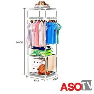 🔥HOT ITEM🔥ASOTV Multi Function Clothes Organizer & Storage Rack