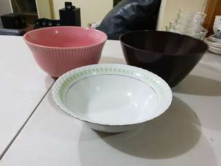 Big bowl set 3pcs