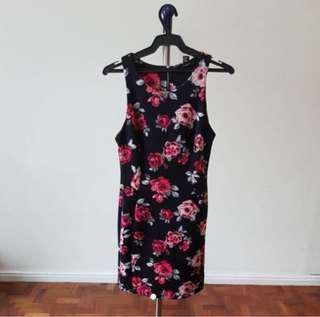 📍SALE📍F21 Floral Bodycon Dress