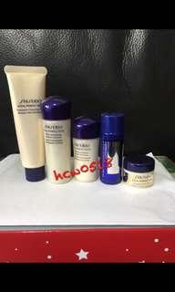 資生堂Shiseido 全效抗痕旅行5件組VITAL PERFECTION 抗老除皺淨白
