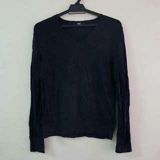 Uniqlo Slim Fit Knitwear (Black)