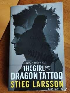 世紀三部曲首作:龍紋身的女孩  The Girl with the Dragon Tattoo by Stieglitz Larsson SOLD 已售