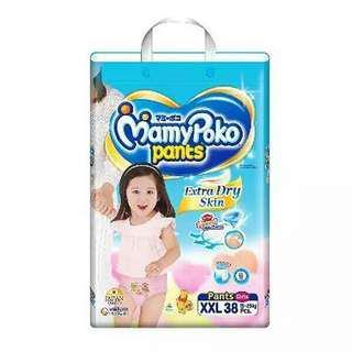 MamyPoko Girl Pants XXL