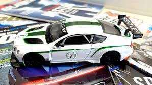 Bentley Continental GT3 Petron Car White