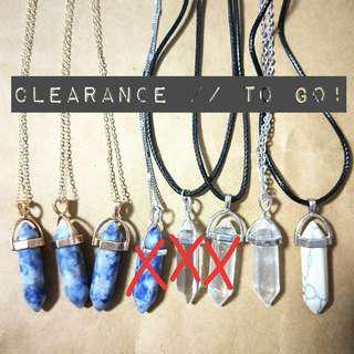 🚚 Quartz Necklace