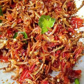 Homemade Sambel Teri Medan