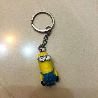 Minions 鎖匙扣 Keychain 迷你兵團 黃色小豆丁