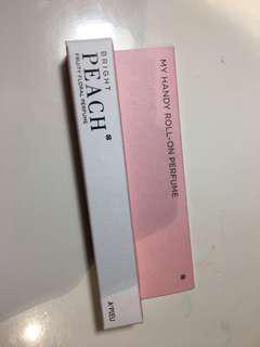 Apieu my handy roll on perfume (peach)