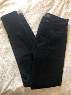 Ziggy High Waisted Black Denim Jeans