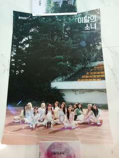 loona ++ poster instock