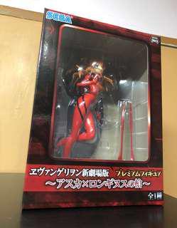 (全新)日本SEGA Rebuild of Evangelion - Premium Figure ~Asuka x Longinus Spear~