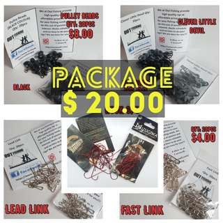Fishing Rigs Tackle Package