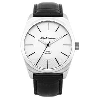 SALE! Ben Sherman Stainless Steel Leather Watch