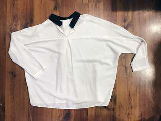 P&CO Formal White Top