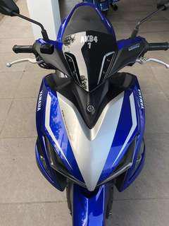 2017 Yamaha NVX 155