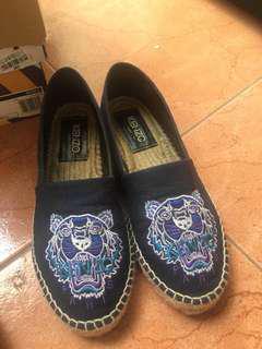 Kenzo espadrilles navy blue
