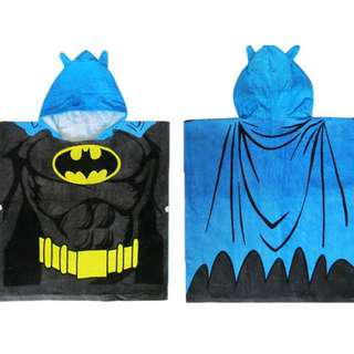 🚚 KOR119 Kids Bath Swim Towel Poncho - Batman