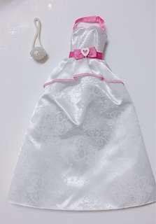 Barbie clothes- wedding dress