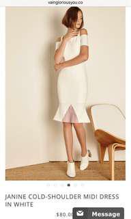 🚚 BNWT VGY Janine Cold Shoulder Dress
