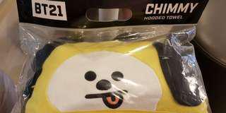 BT21 Chimmy/Tata Hooded Towel