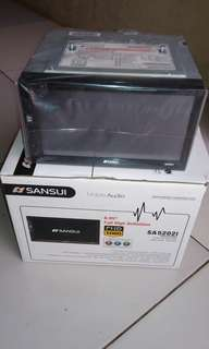 Head unit tv mobil monitor mobil sansui japan