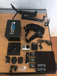 GoPro Hero 4 Silver with original accessories