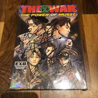 EXO Promo Signed Power Album