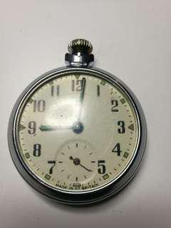 Restoration of 1940s Smith Pocket Watch (Before and After)