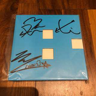 EXO CBX Promo Hey Mama Baekhyun Version Signed Album