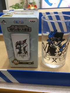 海賊王玻璃杯 一番賞 薩波sabo