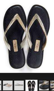 🚚 巴西原裝進口華麗人字帶夾腳鞋尺碼35加送鞋底防滑片